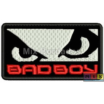 Bordado Termocolante - Patch Bad Boy 22x11,5cm