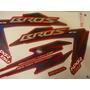 Adesivo Nxr 150 Bros Ks 12 Vermelha, Envio Grátis, Quali 3m