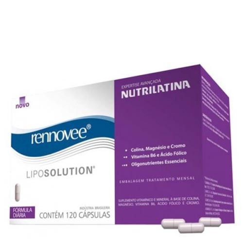 Rennovee Lipo Solution Nutrilatina - Suplemento Ativador