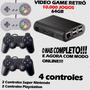 Video Game Retrô   Kodi   10.000 Jogos   4 Controles   64gb