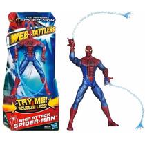 Homem Aranha 16cm Marvel Ataque Teia Dupla! Lacrado!