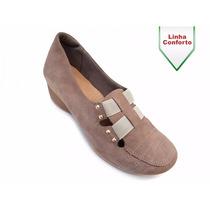 Sapato Feminino Usaflex U8307 - Super Confortável