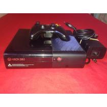 X- Box 360 Semi-novo Travado + Hd De 250gb