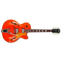 Guitarra Semiacustica Cort Yorktown Laranja Bv