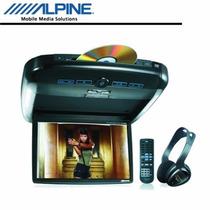 Tela De Teto Com Leitor De Dvd Alpine Pkg-rse2 Tela 10,2 Nc