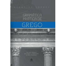 Gramática Prática De Grego Livro Editora Hagnos