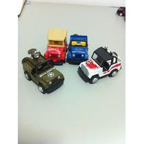 Carrinhos De Metal Lote Jeep Raridade Anos 90