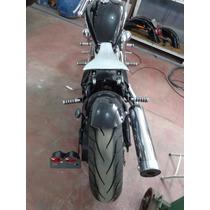 Banco Solo Molas Shadow 600 Vt Vlx Custom Chopper Bobber