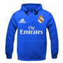 Blusa Moleton Real Madrid Futebol Champions Moletom