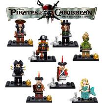 Minifiguras Piratas Do Caribe Iv Jack Sparrow E Outros