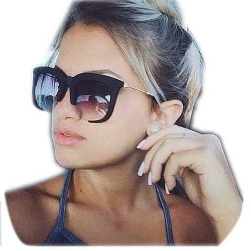 920eaf6689936 Óculos De Sol Feminino Clássico Rasoir Aberto Cores Grande