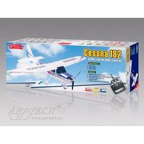 Robinho Aeromodelismo Cessna 182 Art-tech / Rtf Pronto Para
