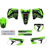 Kit Adesivo Gráfico Plotagem Moto Trilha Motocross Xr200 Md1