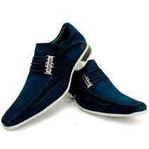 Sapato Masculino Esporte Fino Lançamento!! 100% Couro/lbm