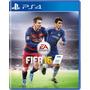 Jogo Novo Esporte Futebol Fifa 16 Pra Playstation 4 Ps4