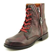 Mia Heritage Fatina Ankle Boot De Couro