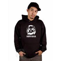 Blusa Nirvana Moletom Canguru A Melhor !!!