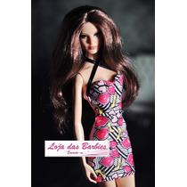 Roupinha Fashion P/ Boneca Barbie + Sapatos Original Mattel
