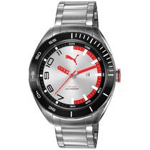 Relógio Masculino Puma, Aço, 100m Atm - 96256g0psna3