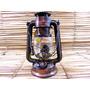 Lampião Pavio Querosene Envelhecido Rustico Decoração 24 Cm