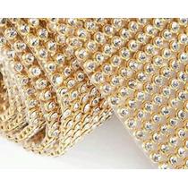 Manta De Strass 7 Cm X 45  Cristal 100 % Original  Tamanho