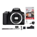 Canon Sl3 Corpo/lente 50mm Canon 1,8 Stm +64g+bolsa+tripé