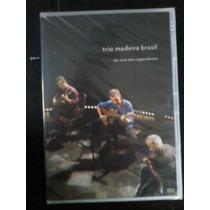 Dvd -trio Madeira Brasil Ao Vivo Em Copacabana-original,lac.