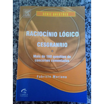 Livro Raciocínio Lógico Cesgranrio
