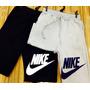 Calça Moletom Nike Shorts Nike Bermuda Fitnes Academia Nike