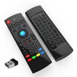 Controle Teclado Air Mouse Com Sensor De Movimento