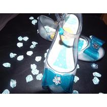 Sapatilha Frozen Elsa Ponta De Estoque Numero 31