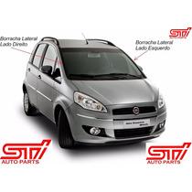 Kit Par De Borracha Acabamento Parabrisa Fiat Idea Original