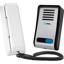 Interfone Porteiro Eletrônico Hdl F8-s Abre Fechadura