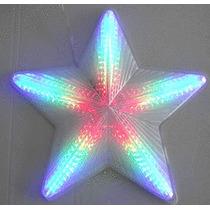 Estrela Pisca-pisca Natalino Led 42cm Bivolt Branca