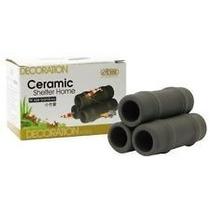 Enfeite Ceramica Ista Para Aquario Toca P/ Peixe I-909 Bambu