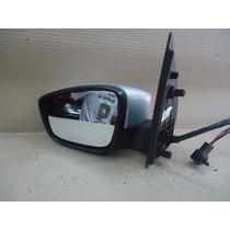 Retrovisor Esquerdo Gol G6 Elétrico Com Pisca