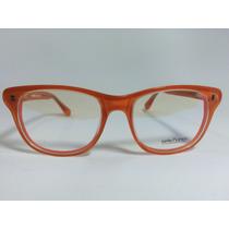 Armação Óculos De Grau Sete Sete Cinco Laranja Receituário