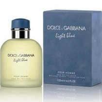 Perfume Masculino Dolce & Gabbana Light Blue 125ml Original.