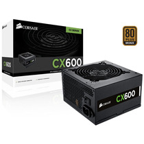 Fonte Corsair Cx600 600w Real 80plus Bronze Cp-9020048-ww