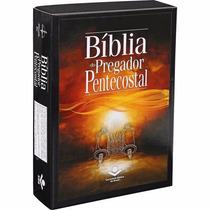 Bíblia Do Pregador Pentecostal Rc Com Índice Esboços Vinho