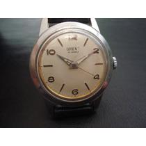 546d8c594e9 Relógio Orient Raro 21 Joias Aço Japan Antigo Coleção à venda em ...