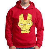 Blusa De Moleton Iron Man Homem De Ferro Super Heróis