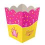 Cachepô Festa Coroa De Princesa - Enfeite De Mesa Reino 8uni