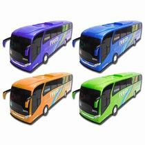 Onibus Brinquedo Miniatura Iveco Plastico Várias Cores
