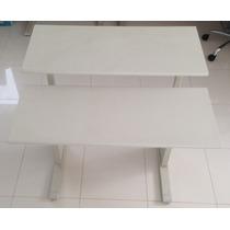 Mesa Com Tampos Regulaveis Para Computador Em Aço Aceco