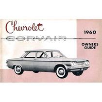 Div - Manual Do Proprietário Chevrolet Corvair 1960 Ótimo Ok
