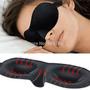 Máscara De Dormir 3d Com Tampão De Ouvidos