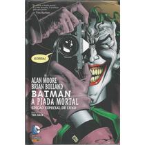 Batman A Piada Mortal Edicao De Luxo - Gibiteria Bonellihq