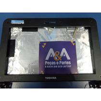Tampa Netbook Toshiba 10polegadas Com Flat E Dobradiça