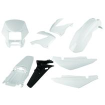 Carenagem Bros 150 Branco 2003/2004 E 2007 Kit Completo